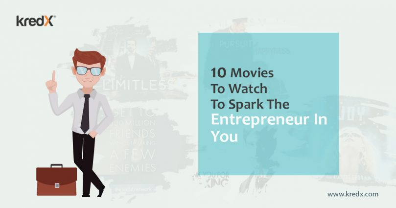 Infographic: 10 Movies To Watch To Spark The Entrepreneur In You
