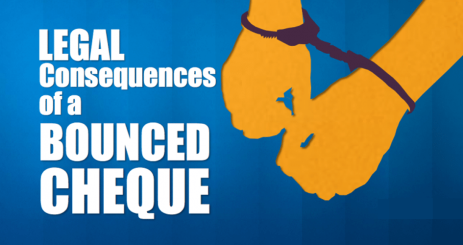 Infographic – Legal Consequences of a Bounced Cheque
