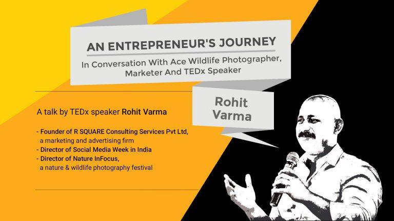 TEDx Speaker – Rohit Varma