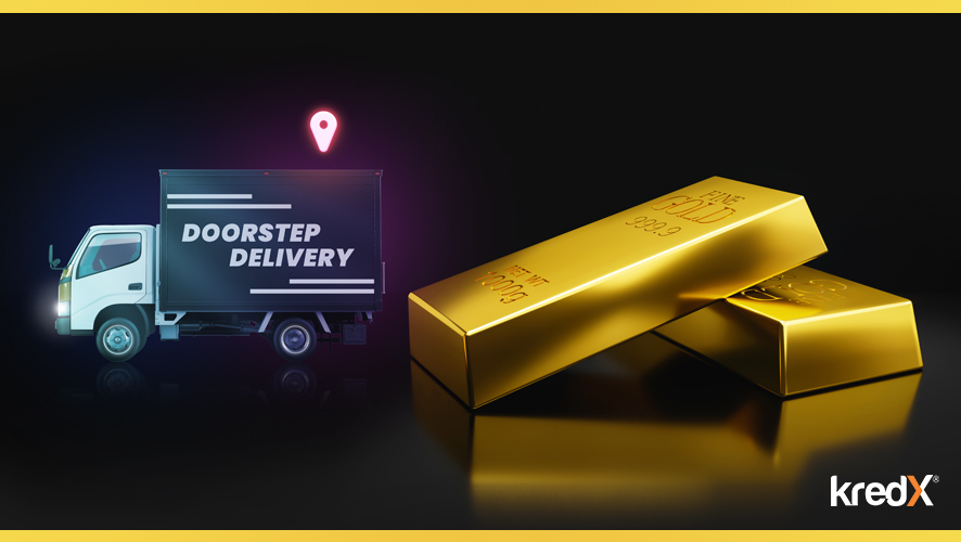 KredX Launches Doorstep Delivery Of Digital Gold & Silver